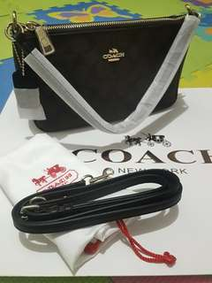 Coach 2 Way Signature Sling Bag