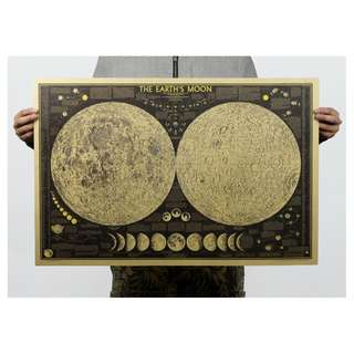 [2 for $6] Huge Moon / Antartica Posters