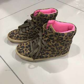 NEXT Girls Leopard Boots