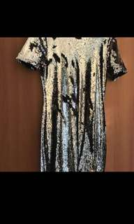 Sequin dress from Topshop