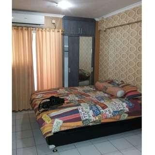 Unit type Studio full furnish Bersih,Rapih,Dan Nyaman