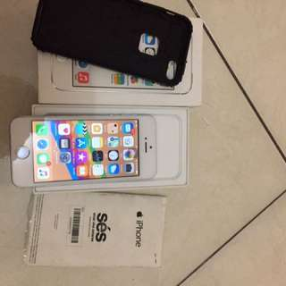 Iphone 5s 16 gb ex resmi ibox