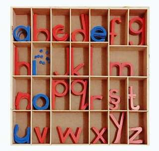 Large Moveable Alphabets (Lower case)