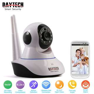 Wireless IP Camera HD 720P Home Security Camera Wi-Fi Two Way Audio IR Night Vision Network Baby Monitor