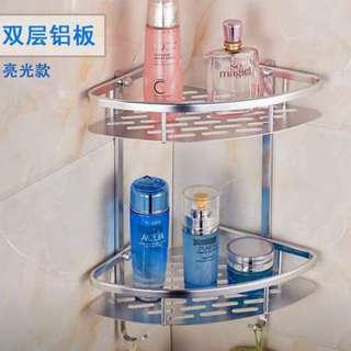 2 Layer Stainless Bathroom Rack