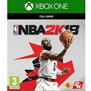 Microsoft Xbox One NBA2K18 Digital Game Code