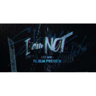 [PREORDER] Stray Kids - I Am Not (1st Mini Album)