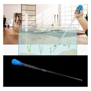 Multi-Purpose Water Changer / Cleaning Tool / Feeder for Fish Tank