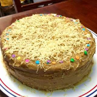 Home Made Large Yema Cake Mouthwatering Delicious