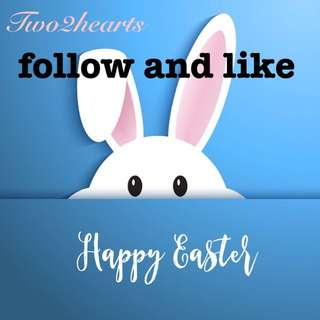 happy 😃 Easter 🐣 Follow me and LIKE