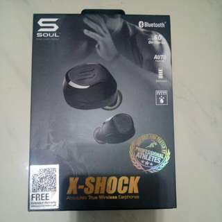 SOUL X-SHOCK WIRELESS EARPHONES(真無線耳機)
