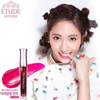 Etude House Dear Darling Tint in 01 Berry Red