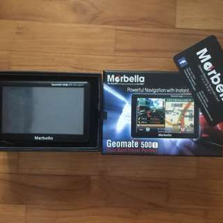 Morbella Geomate 500S Navigation with Instant GPS