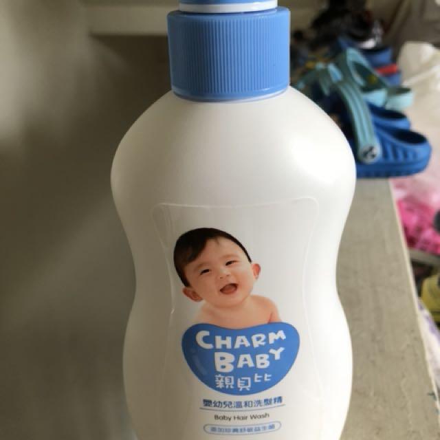 全新親貝比嬰幼兒溫和洗髮精400ml