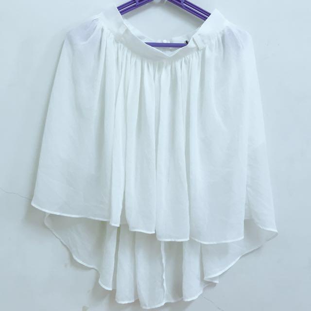 夏天清涼氣質白裙