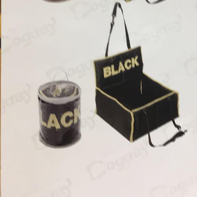 法國汽車寵物掛籃,黑色