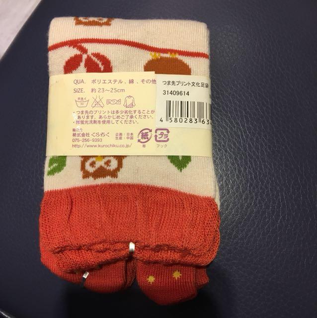 日本止滑貓頭鷹襪子