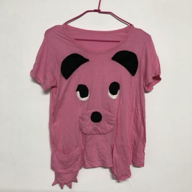 熊熊棉質上衣