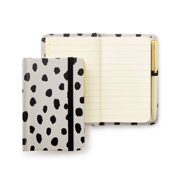 kate spade new york Mini Notebook With Pen - Flamingo Dot 筆記本附筆