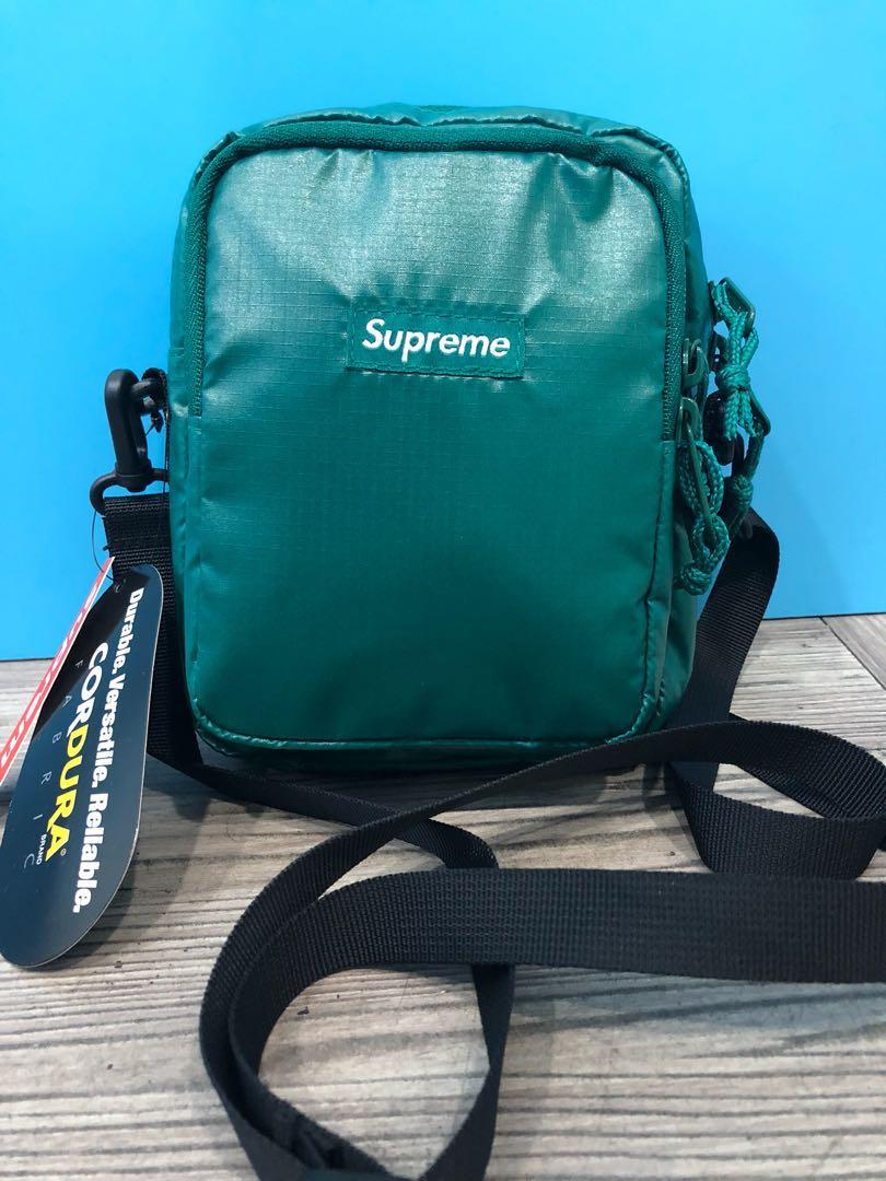 31d1694b006d 🔴 Supreme Shoulder Bag Dark Teal ( HK AAA )