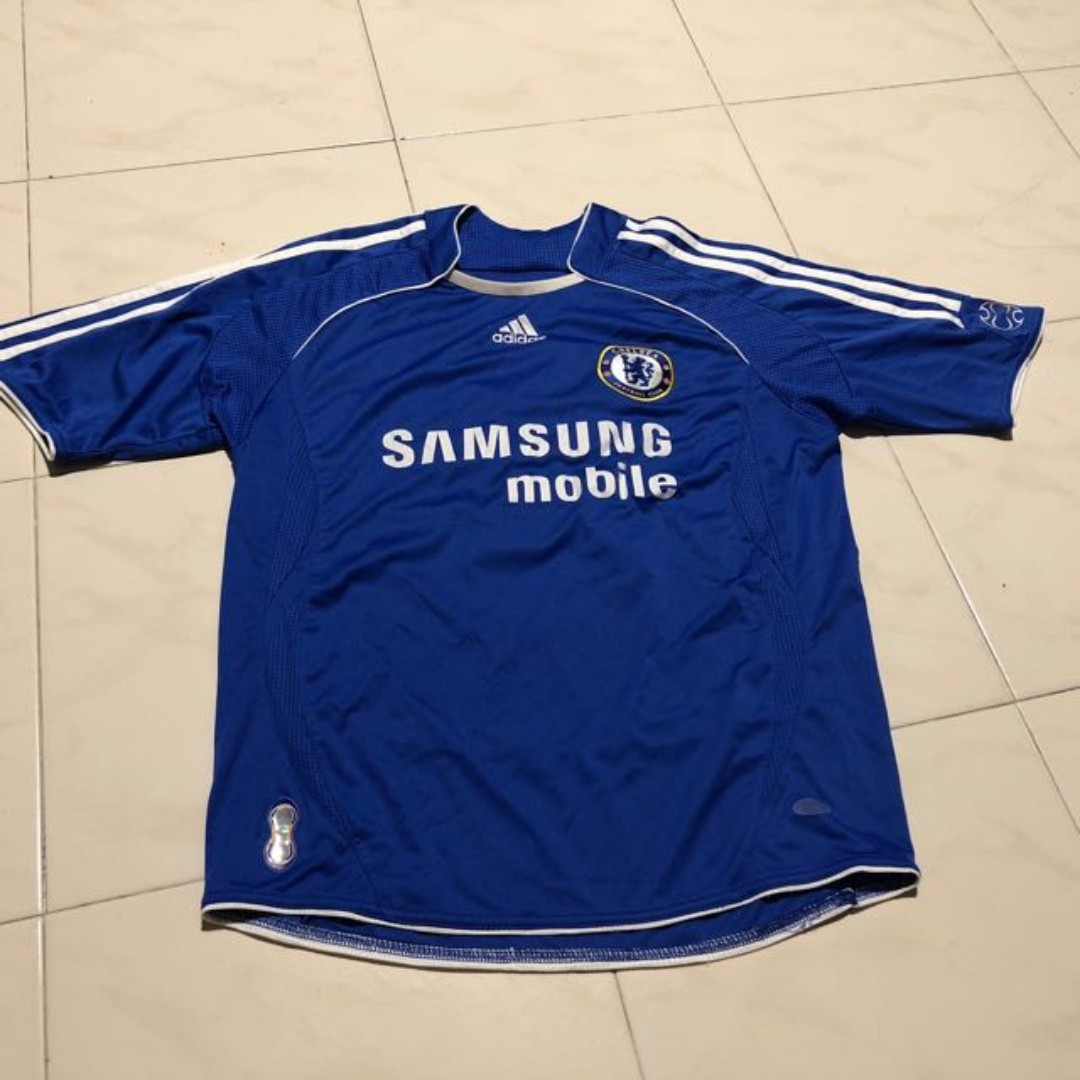 new concept 3a774 bfcc8 ADIDAS CHELSEA SAMSUNG JERSEY, Electronics, Others on Carousell