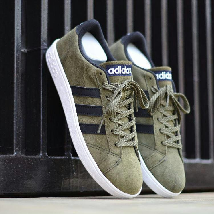 adidas neo olive green shoes Shop