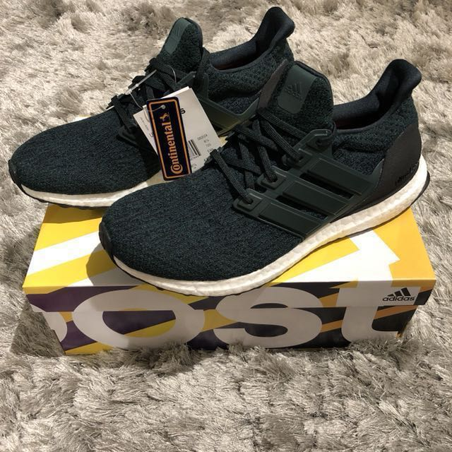 72f2848ba Adidas Ultra Boost Green Night UK8.5 US9