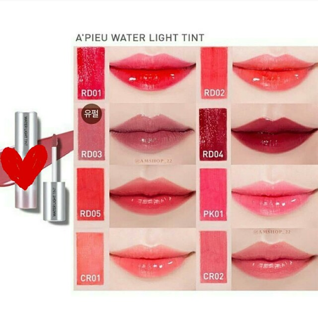 Apieu Water Light Tint
