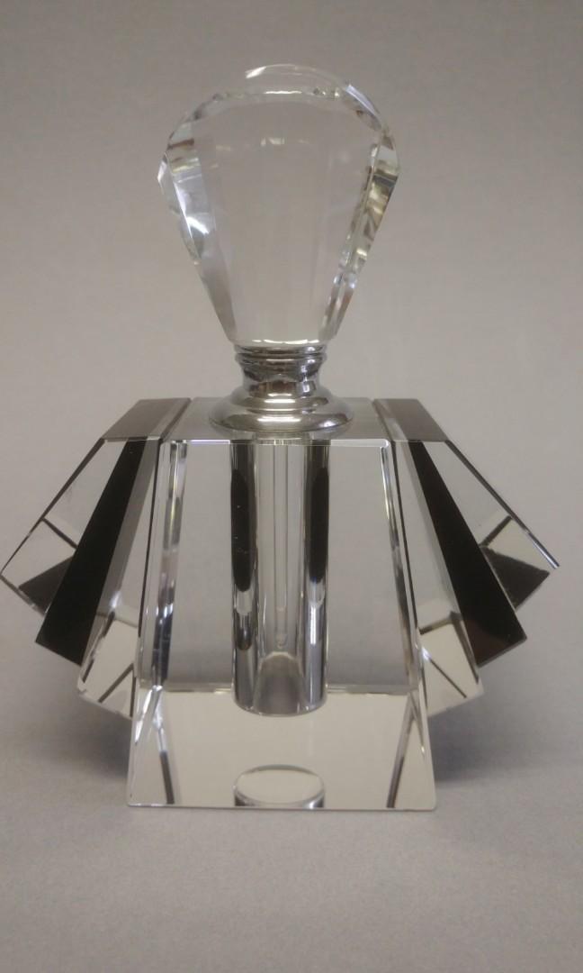 Art Deco Crystal Perfume/scent bottle