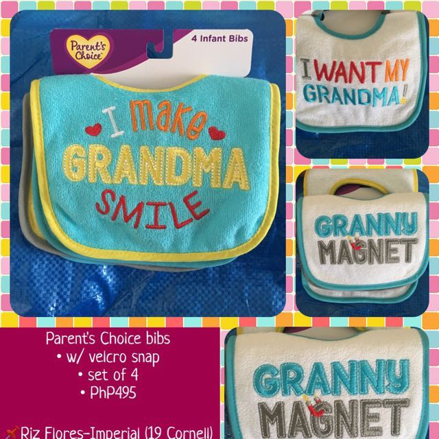 Assorted Bibs from the US