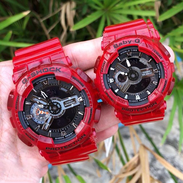 f5f1abd32564 Authentic Brand New Casio G-Shock Baby-G GA-110CR-4A BA-110CR-4A ...