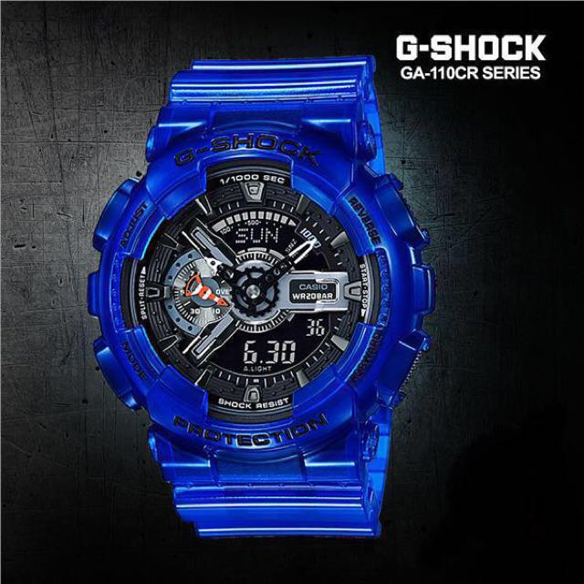 bb884344395 Authentic Brand New Casio G-Shock GA-110CR-2A Coral Reef Aqua Planet ...
