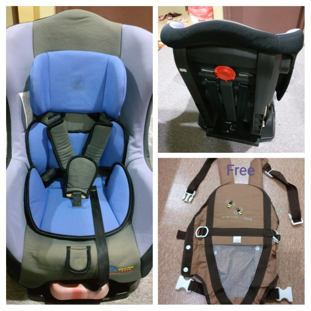 Baby Car Seat With Free Carrier Babies Kids Others On Carousell