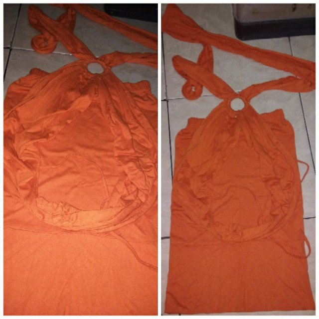 baju party model kemben + outer