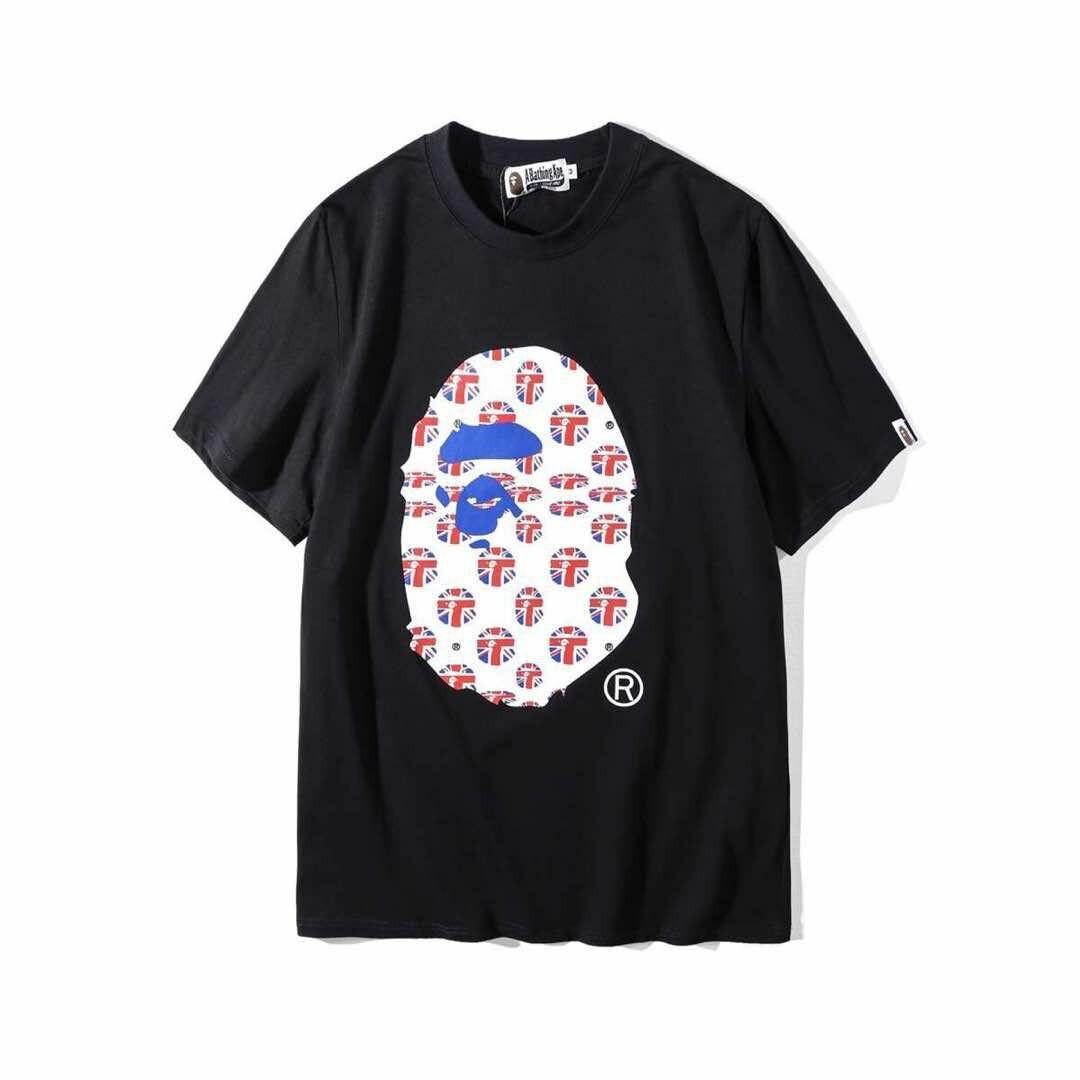 6318767ab BATHING APE BRITISH shirt, Men's Fashion, Clothes, Tops on Carousell