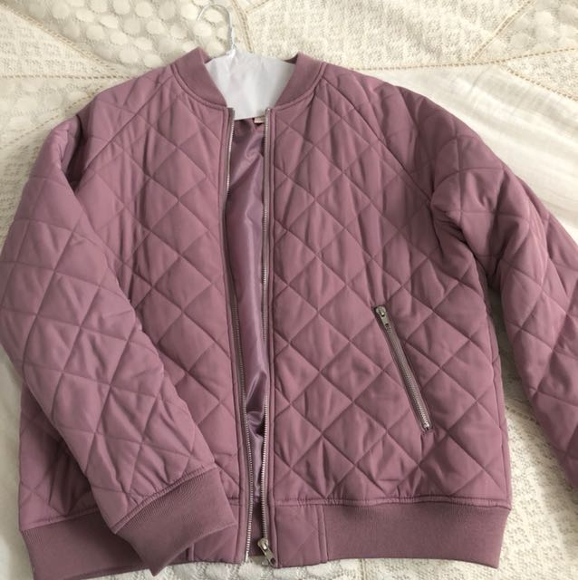 Bomber jacket lilac