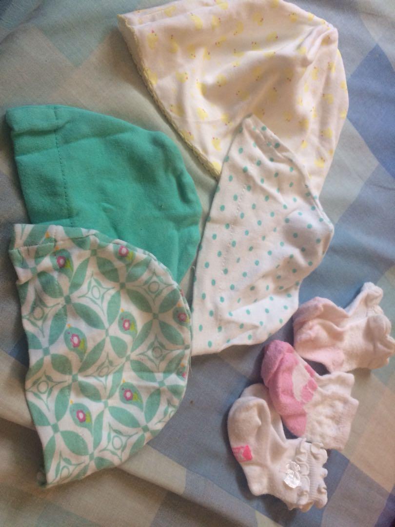 Bonnets and Socks