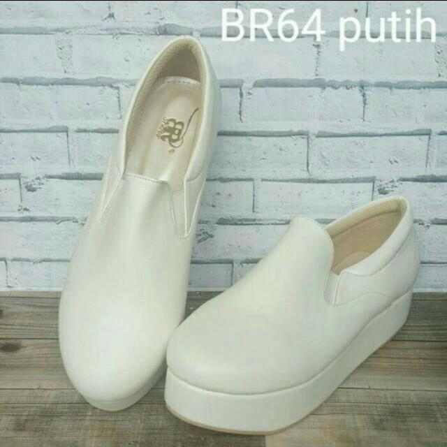 BR Shoes platform white