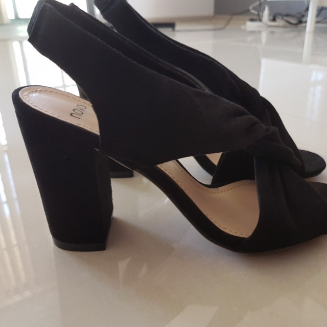 Brand New Black Novo Heels (never worn)