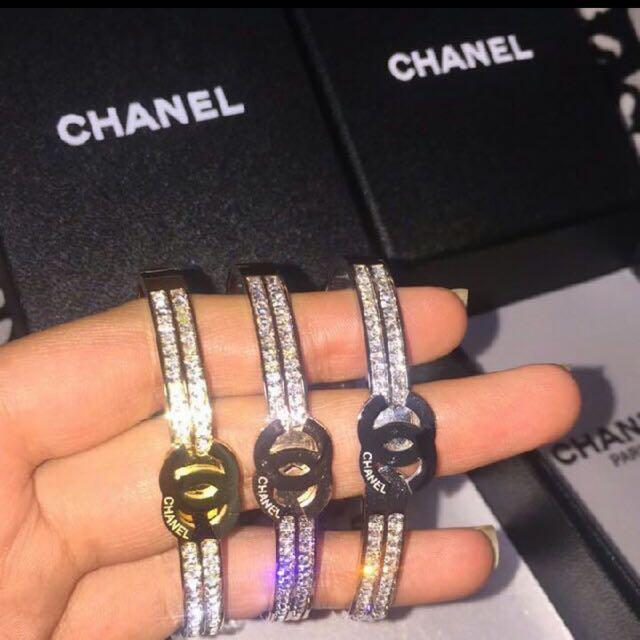 Chanel Diamond Bangle bracket jewellery