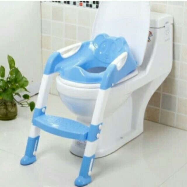 Children Baby Potty Seat With Ladder