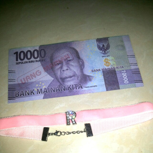 Chocker kalung pink