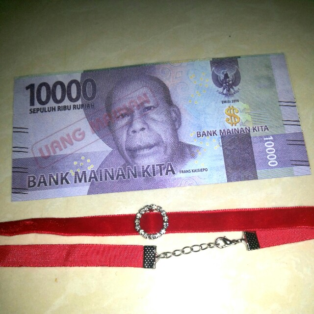 Chocker kalung red