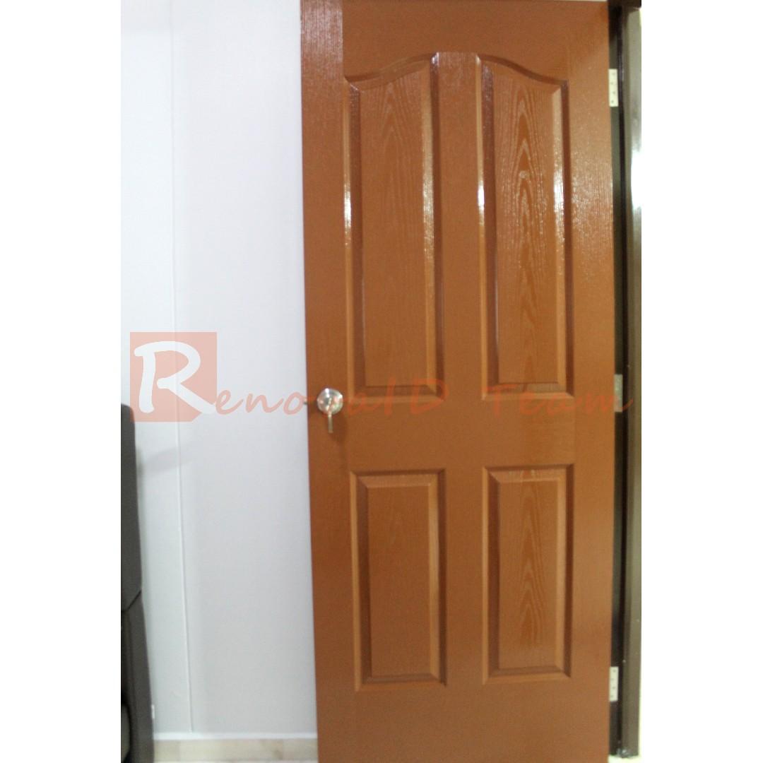 Classic Doors For Hdb Flat Bedroom Doors Replacement Furniture
