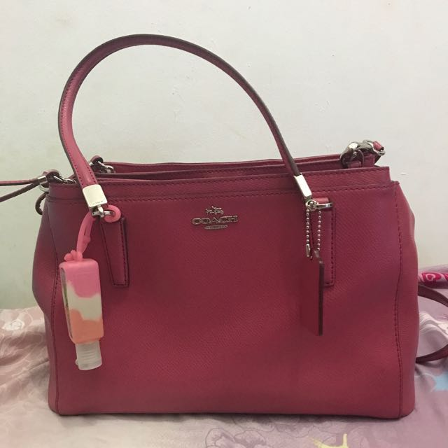 Coach Christie Signature Pink Bag - USED
