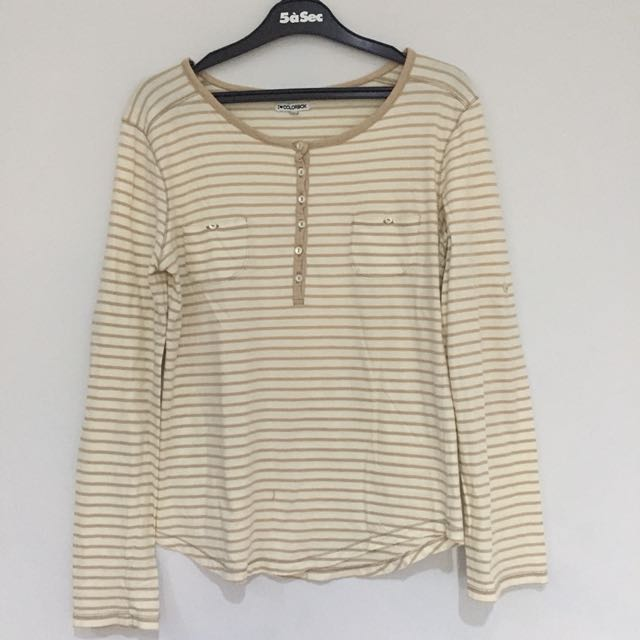Colorbox Stripes Long Sleeves