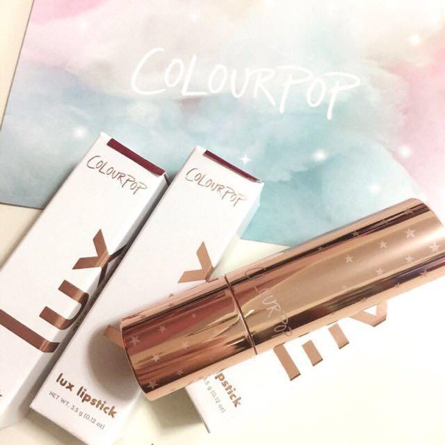 全新現貨/Colourpop LUX Lipstick #27 奢華霧面唇膏