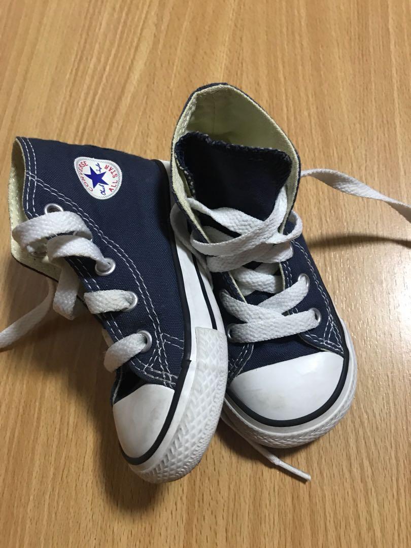 Converse high cut shoes
