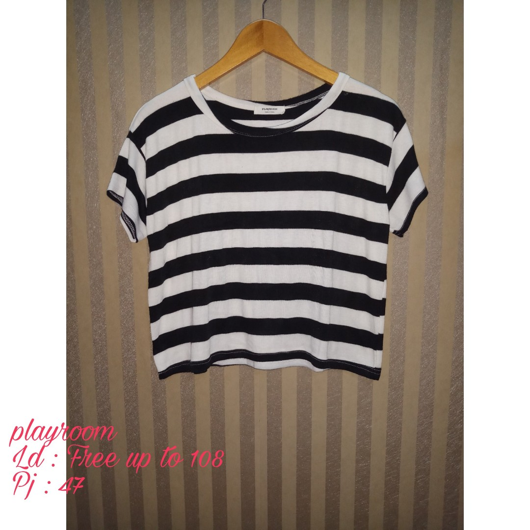 Crop top by playroom