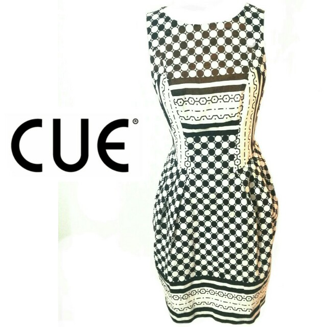 Cue in the City dress  sz 10